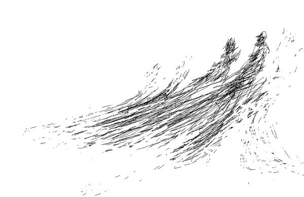udar-morskog-vala-ribari